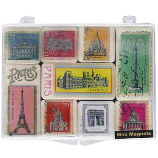 �ե�� �ޥ��ͥå� ���ǥ������륳��ȡ�pastal stamps with paris��