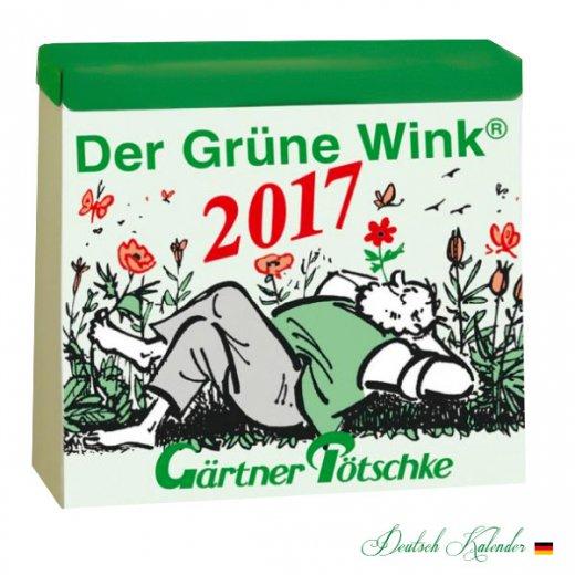 2017 ドイツ RUNNEN (ブルネン)  ガーデニング 日めくりカレンダー【入荷しました!】【画像2】
