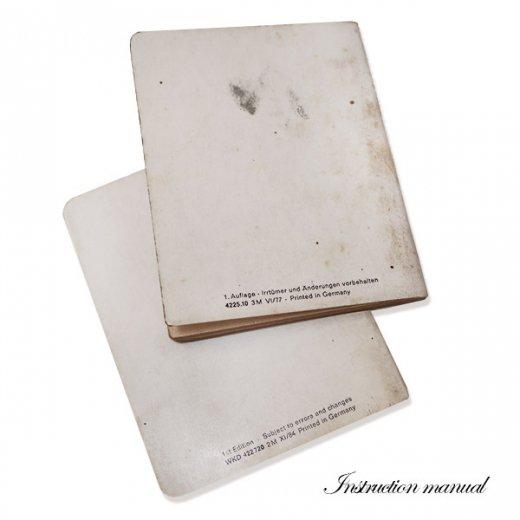 ドイツ アンティーク本 ポルシェ取説 2冊セット(PORSHE 911/924)【画像4】