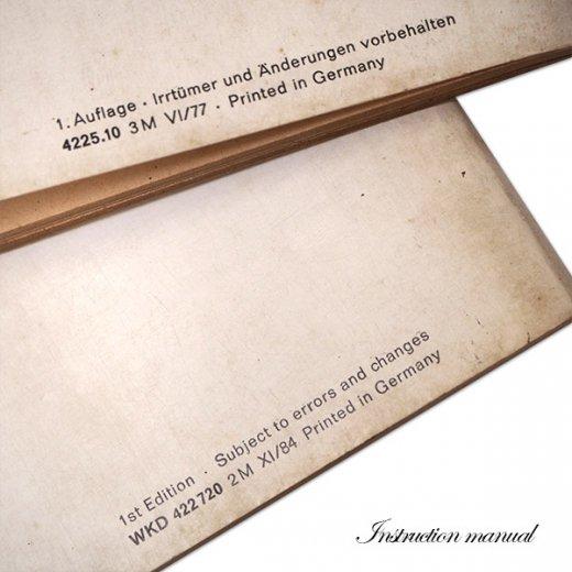 ドイツ アンティーク本 ポルシェ取説 2冊セット(PORSHE 911/924)【画像5】