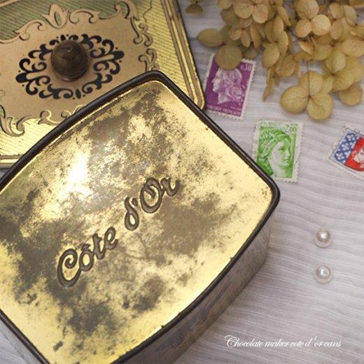 ベルギー アンティーク缶 ショコラ TIN缶【COTE D'OR】【画像6】