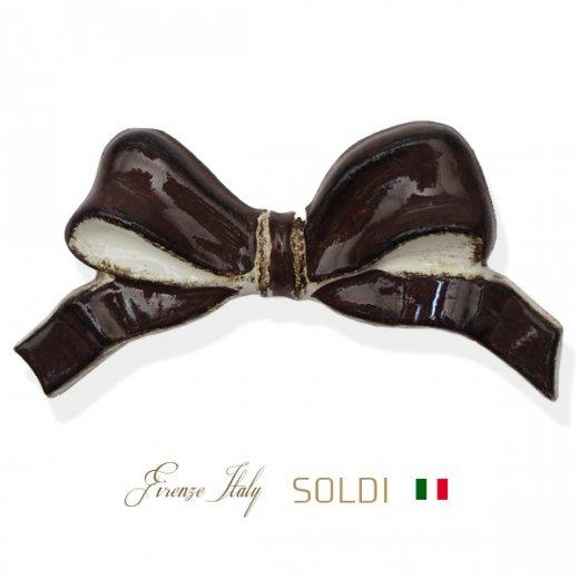 SOLDI ソルディ イタリア フィレンツェ リボン【chocolat】