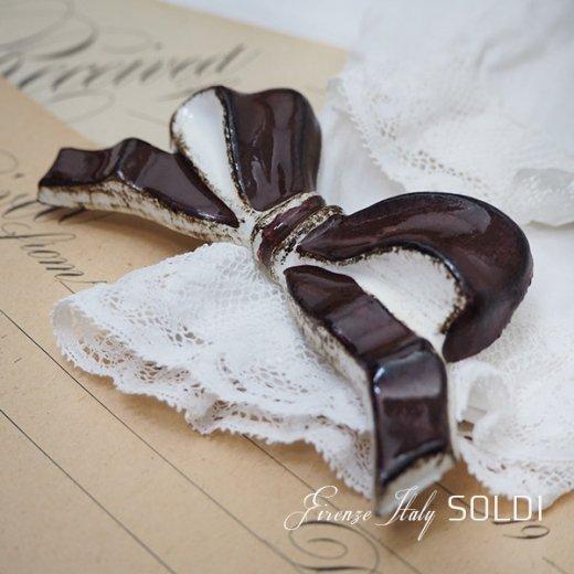 SOLDI ソルディ イタリア フィレンツェ リボン【chocolat】【画像3】
