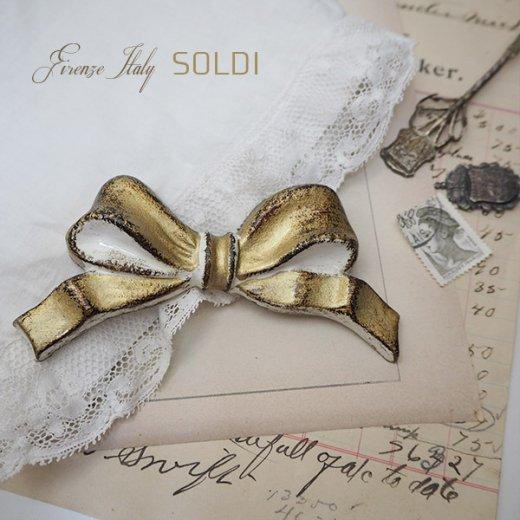 SOLDI ソルディ イタリア フィレンツェ リボン【Gold】【画像2】