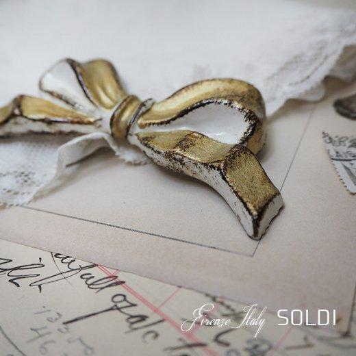 SOLDI ソルディ イタリア フィレンツェ リボン【Gold】【画像4】
