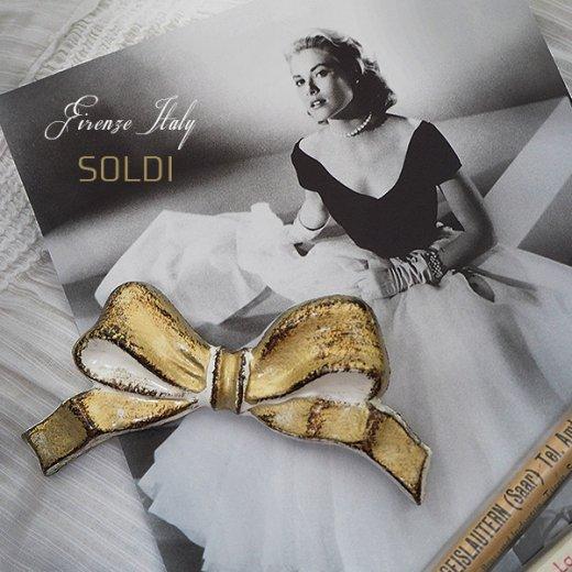 SOLDI ソルディ イタリア フィレンツェ リボン【Gold】【画像5】