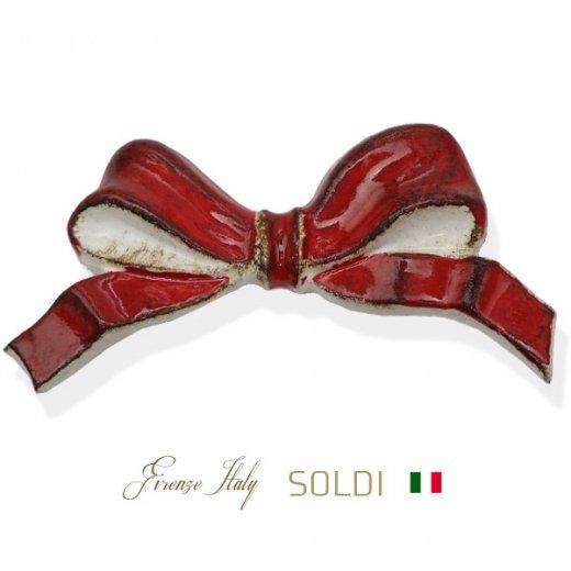 SOLDI ソルディ イタリア フィレンツェ リボン【Red】