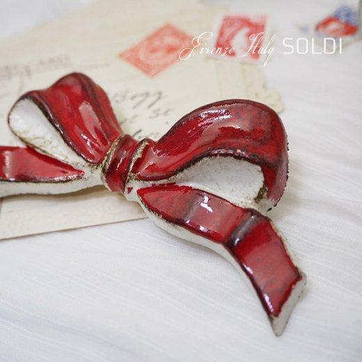 SOLDI ソルディ イタリア フィレンツェ リボン【Red】【画像2】