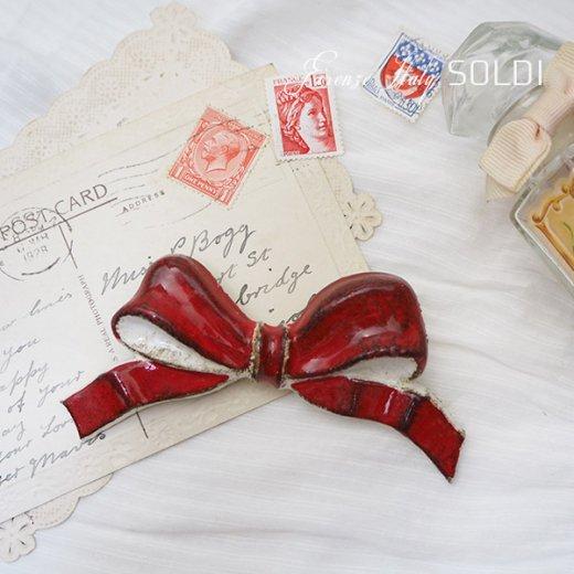 SOLDI ソルディ イタリア フィレンツェ リボン【Red】【画像5】