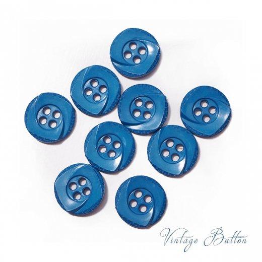 ドイツ ヴィンテージ ボタン 単品販売【Garter Blue】【画像3】