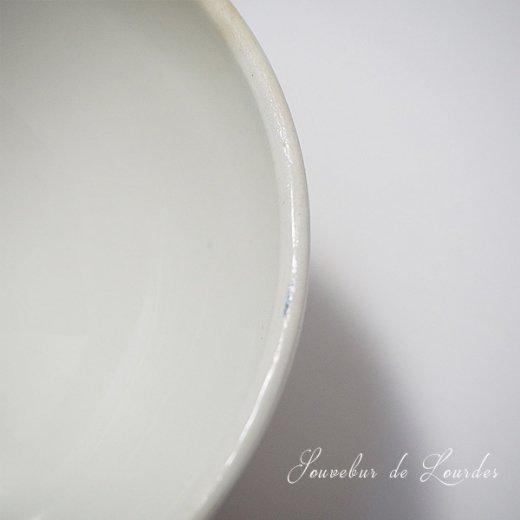 フランス アンティーク カフェオレボウル ルルドの泉 souvenir de lourdes【直径9cm】【画像4】