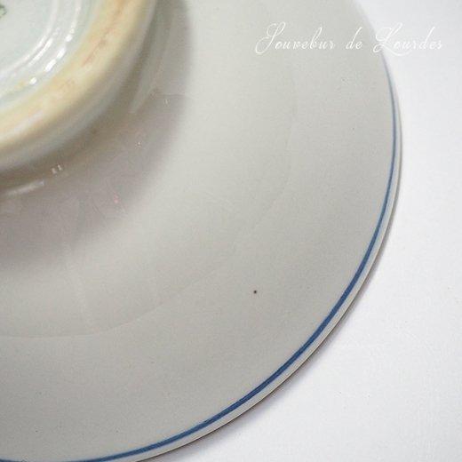 フランス アンティーク カフェオレボウル ルルドの泉 souvenir de lourdes【直径9cm】【画像5】