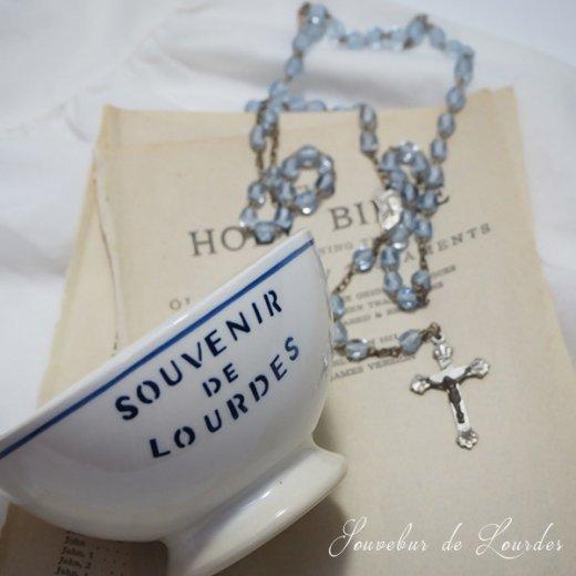 フランス アンティーク カフェオレボウル ルルドの泉 souvenir de lourdes【直径9cm】【画像8】