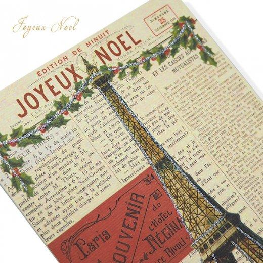Cavallini & Co. カバリーニ クリスマス カード(封筒付き)【JOYEUX NOEL】【画像3】