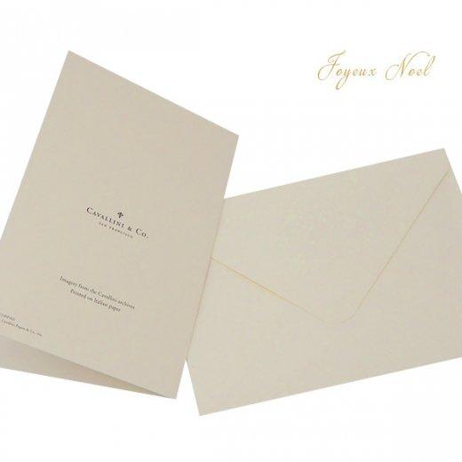 Cavallini & Co. カバリーニ クリスマス カード(封筒付き)【JOYEUX NOEL】【画像4】