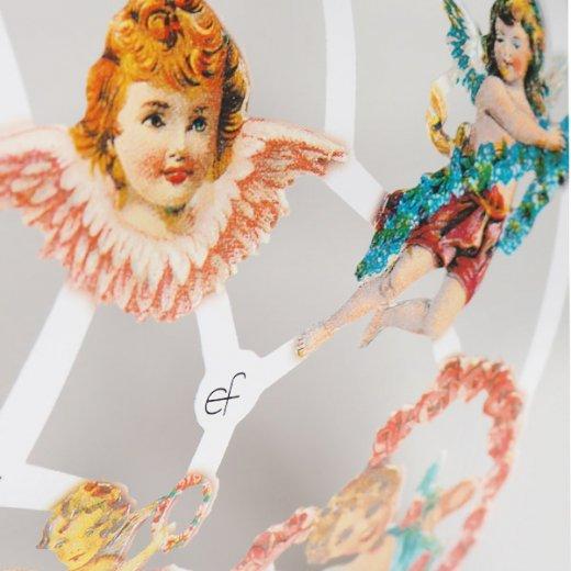 ドイツ クロモス【M】ローズ バラと天使【画像3】