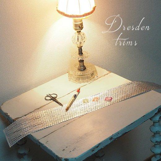 ドイツ Dresden ドレスデンペーパー シルバー トリム デイジー 【単品2本セット】【画像4】