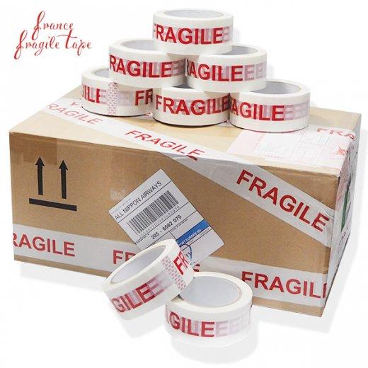 直輸入! フラジール 梱包パッキングテープ 85m こわれもの 取扱い注意 【FRAGILE Packing Tape】【画像5】
