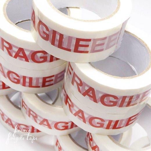 直輸入! フラジール 梱包パッキングテープ 85m こわれもの 取扱い注意 【FRAGILE Packing Tape】【画像6】