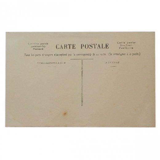 フランス 1900年初頭 アンティーク クリスマス ポストカード【サンタクロースと幼子】【画像2】