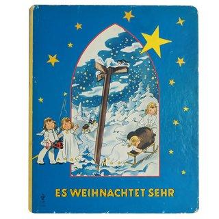 ビンテージ/アンティーク本 ドイツ アンティーク本 クリスマス 天使【Es Weihnachtet Sehr】