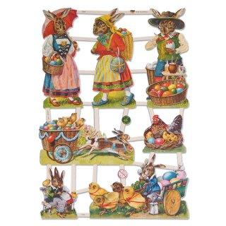 うさぎ ウサギ ラビット 雑貨 ドイツ クロモス【M】(イースターラビットE)