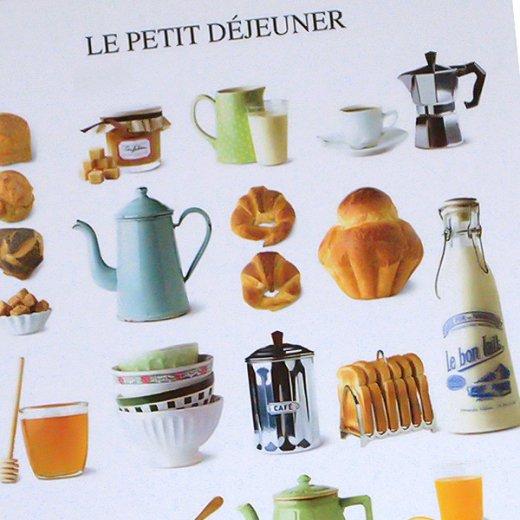 フランス ポストカード(LE PETIT DÉJEUNER〜朝食)【画像2】