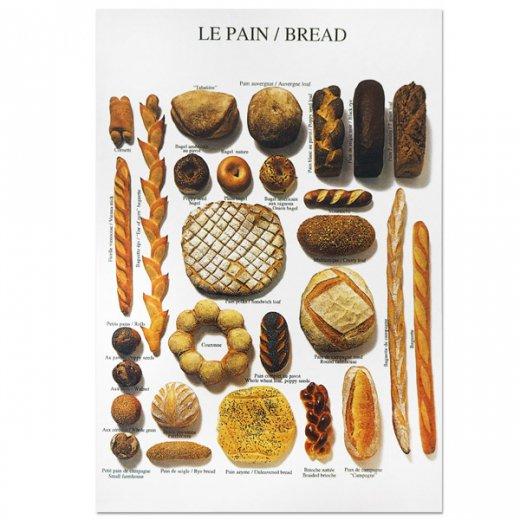 フランス ポストカード(LA PAIN〜ブレッド)