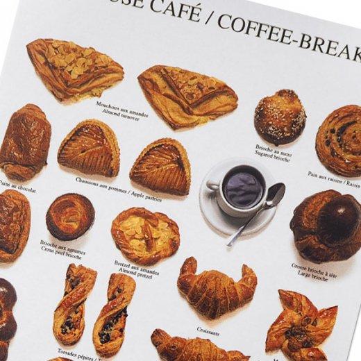フランス ポストカード(PAUSE CAFÉ〜コーヒーブレイク)【画像2】