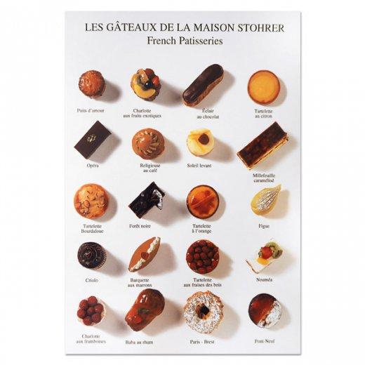 フランス ポストカード(LES GÂTEAUX DE LA MAISON STOHRER〜メゾンストレールのケーキ)