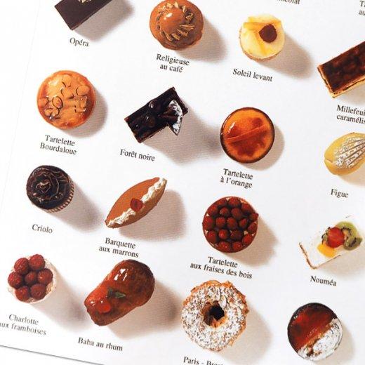 フランス ポストカード(LES GÂTEAUX DE LA MAISON STOHRER〜メゾンストレールのケーキ)【画像3】