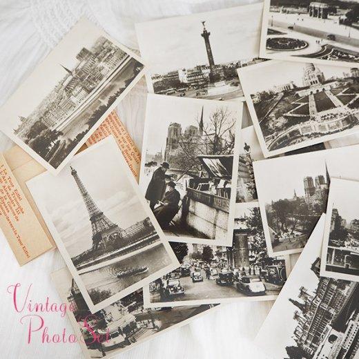 フランス アンティーク スーベニア フォトカードセット CAP(パリの街並み Souvenir Photo) 【画像2】