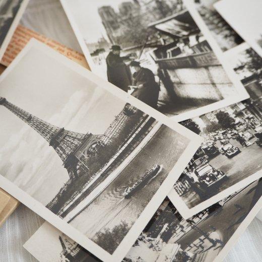 フランス アンティーク スーベニア フォトカードセット CAP(パリの街並み Souvenir Photo) 【画像4】