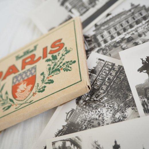 フランス アンティーク スーベニア フォトカードセット CAP(パリの街並み Souvenir Photo) 【画像5】
