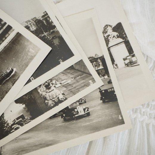 フランス アンティーク スーベニア フォトカードセット CAP(パリの街並み Souvenir Photo) 【画像6】
