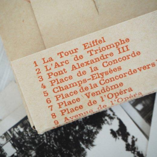 フランス アンティーク スーベニア フォトカードセット CAP(パリの街並み Souvenir Photo) 【画像7】