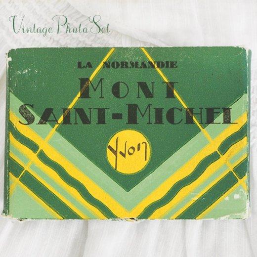 フランス アンティーク スーベニア フォトカードセット(モン・サン・ミッシェル Souvenir Photo) 【画像2】