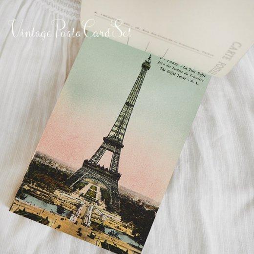 フランス アンティーク スーベニア ポストカードセット(パリの建物・風景 Souvenir) 【画像5】