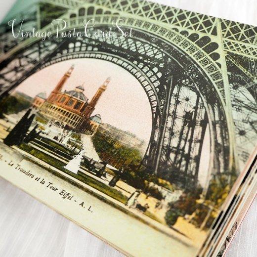 フランス アンティーク スーベニア ポストカードセット(パリの建物・風景 Souvenir) 【画像6】