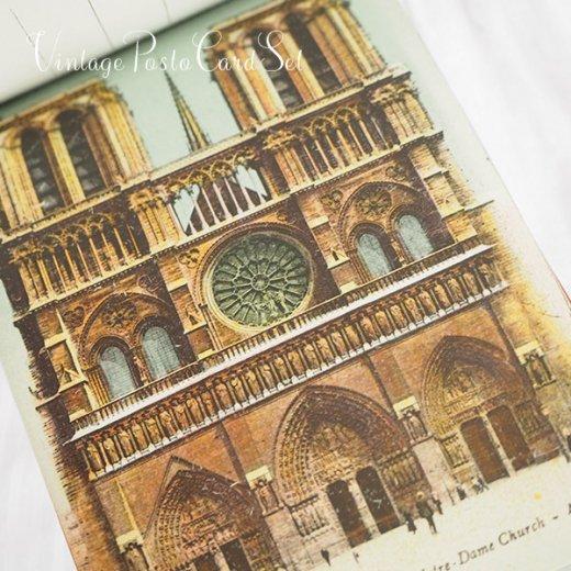 フランス アンティーク スーベニア ポストカードセット(パリの建物・風景 Souvenir) 【画像8】