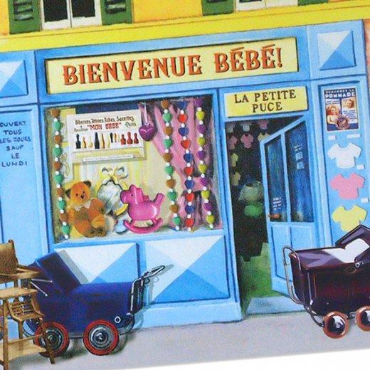 フランス ポストカード(BIENVENUE BEBE)【画像2】