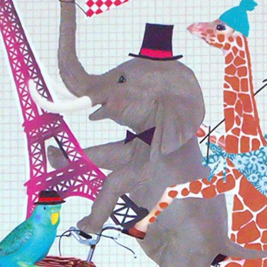 フランス ポストカード(PARIS PARIS)【画像3】