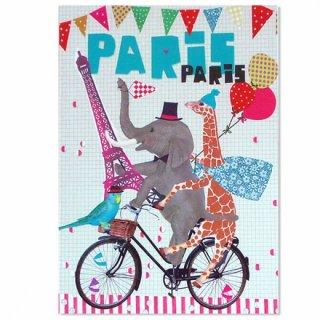 フランス ポストカード(PARIS PARIS)