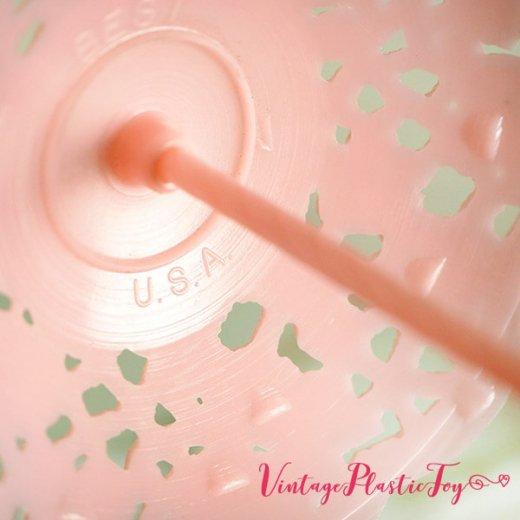 USA 1950年代 イースター BABY 小物入れ3点セット 【ピンク A-type】【画像6】