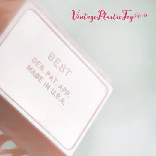 USA 1950年代 イースター BABY 小物入れ3点セット 【ピンク A-type】【画像7】
