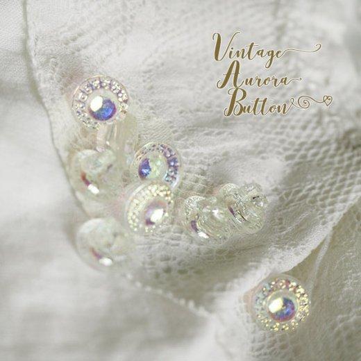 フランス 蚤の市より アンティーク オーロラボタン 単品売り【Jewelry】【画像4】