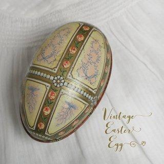 イースター 復活祭 雑貨 USA アンティーク イースターエッグ TINボックス 復活祭【Classic Rose】