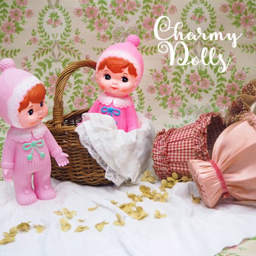 Charmy チャーミードール ソフビ人形【Baby Pink】【画像5】