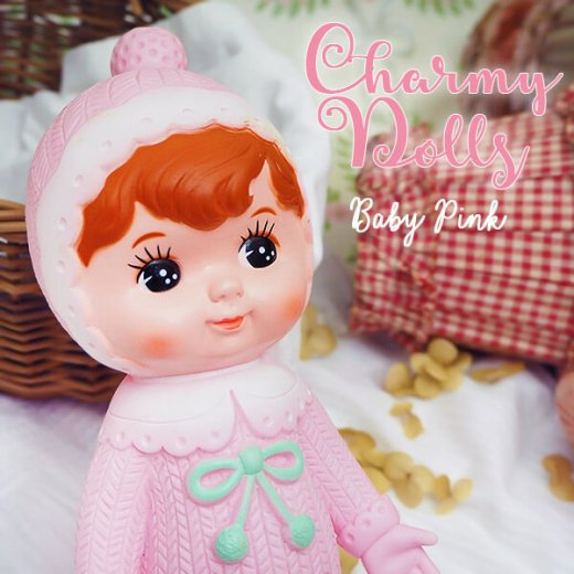 Charmy チャーミードール ソフビ人形【Baby Pink】【画像6】