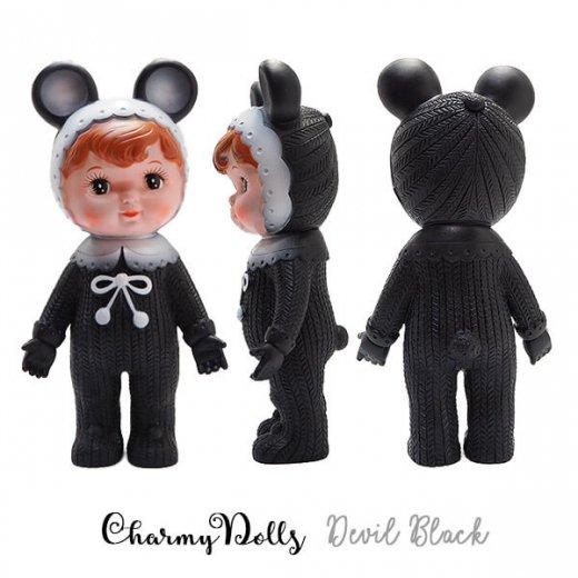 Charmy チャーミードール ソフビ人形【Devil Black】【画像2】